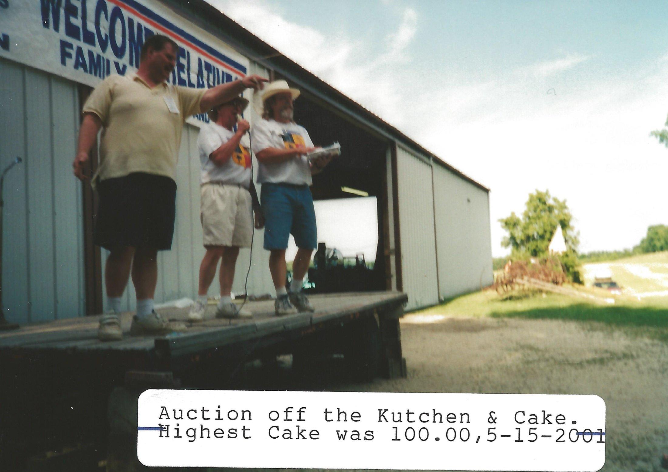Kuchen Auction - Keith, Walter, David