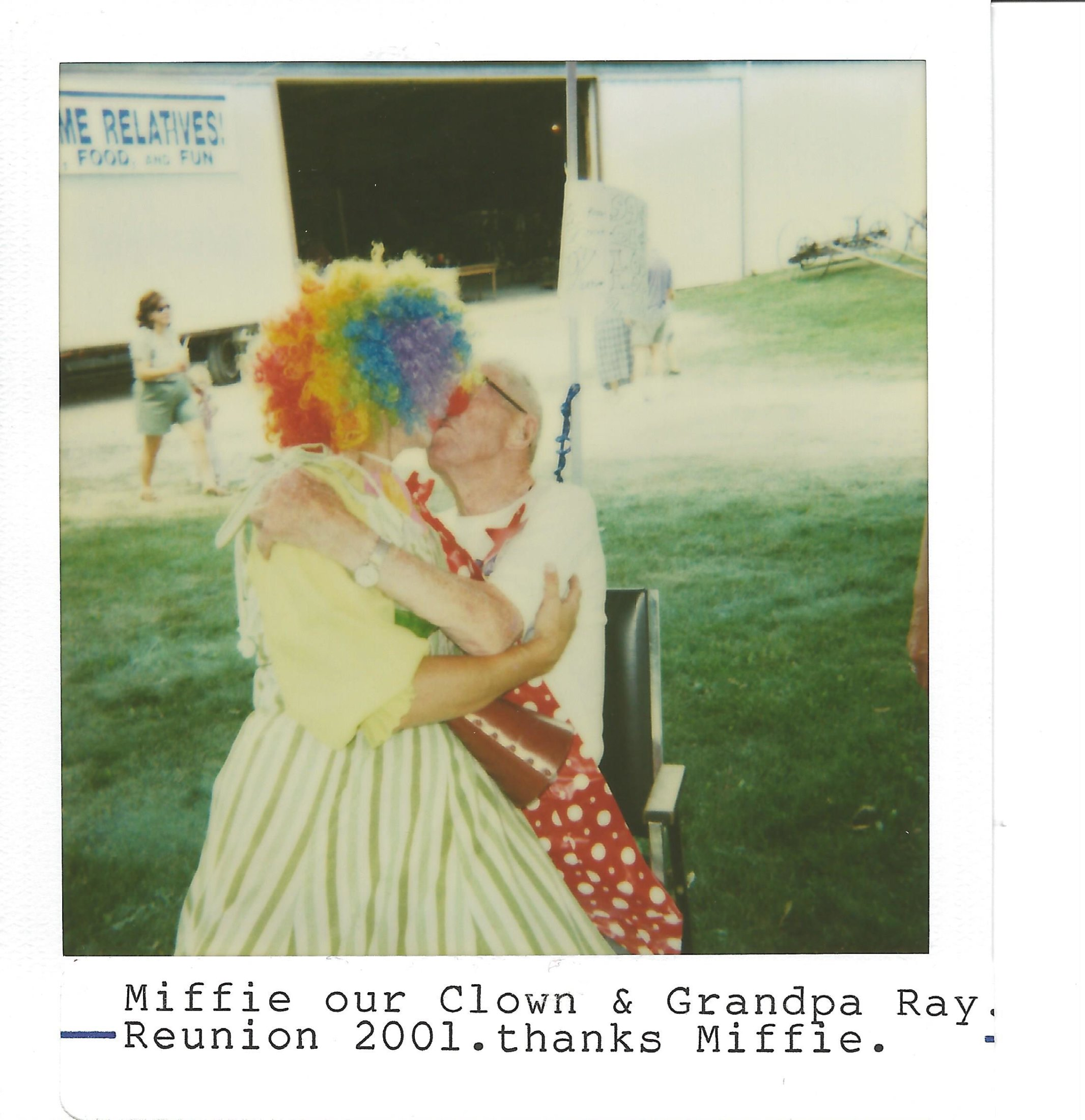 Our Clown Kissing Ray