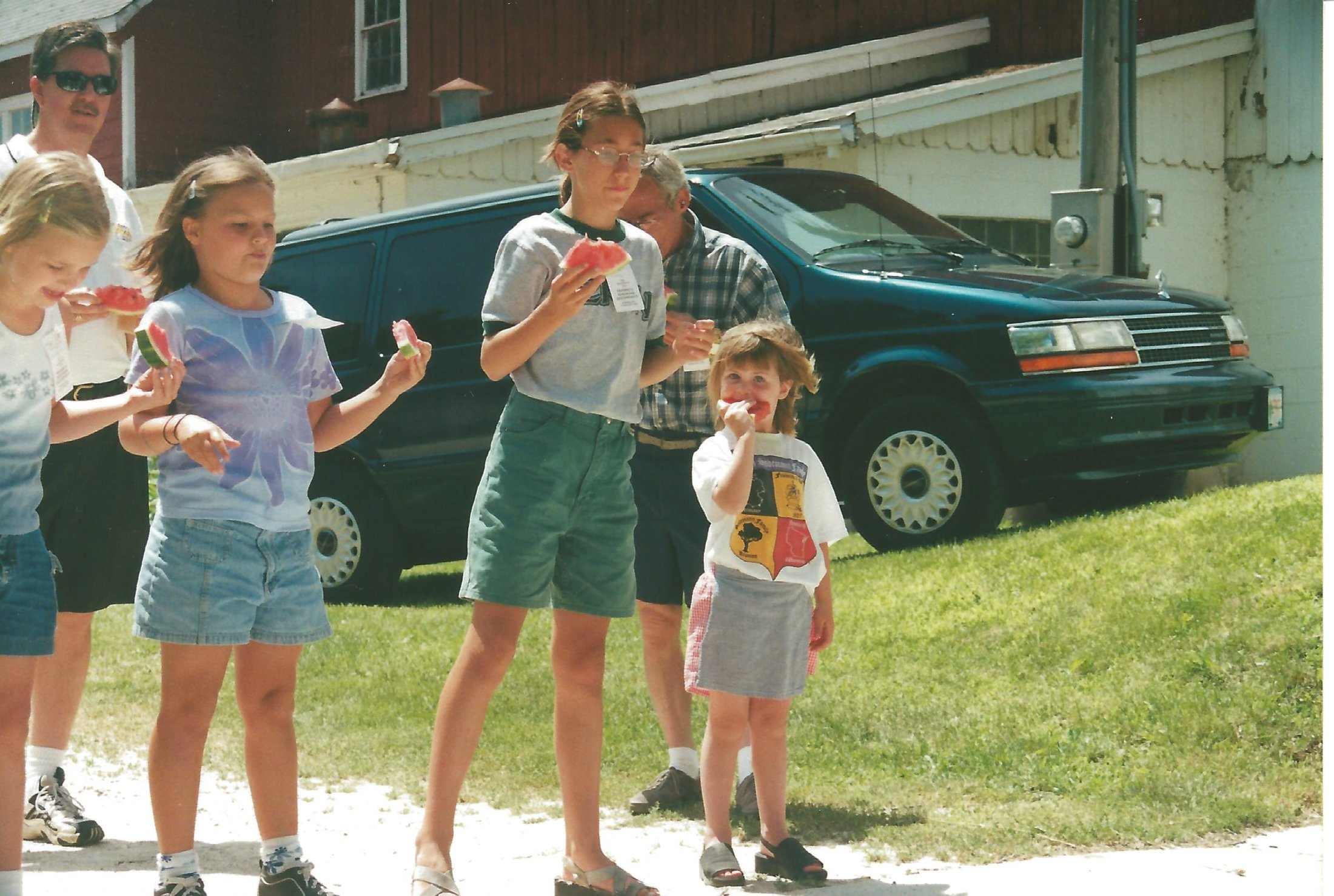 Watermelon Seed Spitting Contest - When Watermelon Still Had Seeds