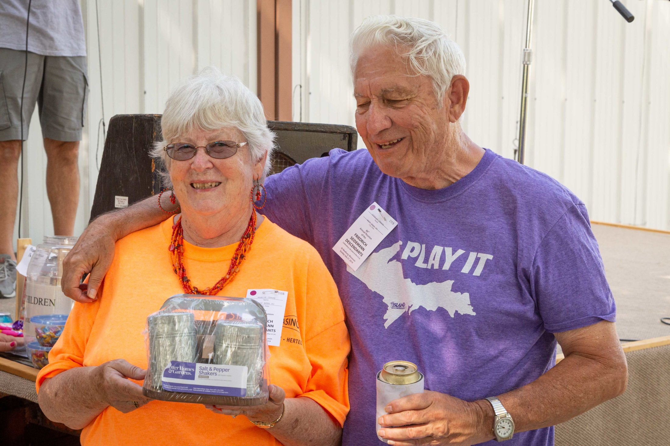 The Longest Married Award Went To Nanci & Doug For 58 Years Of Wedded Bliss.