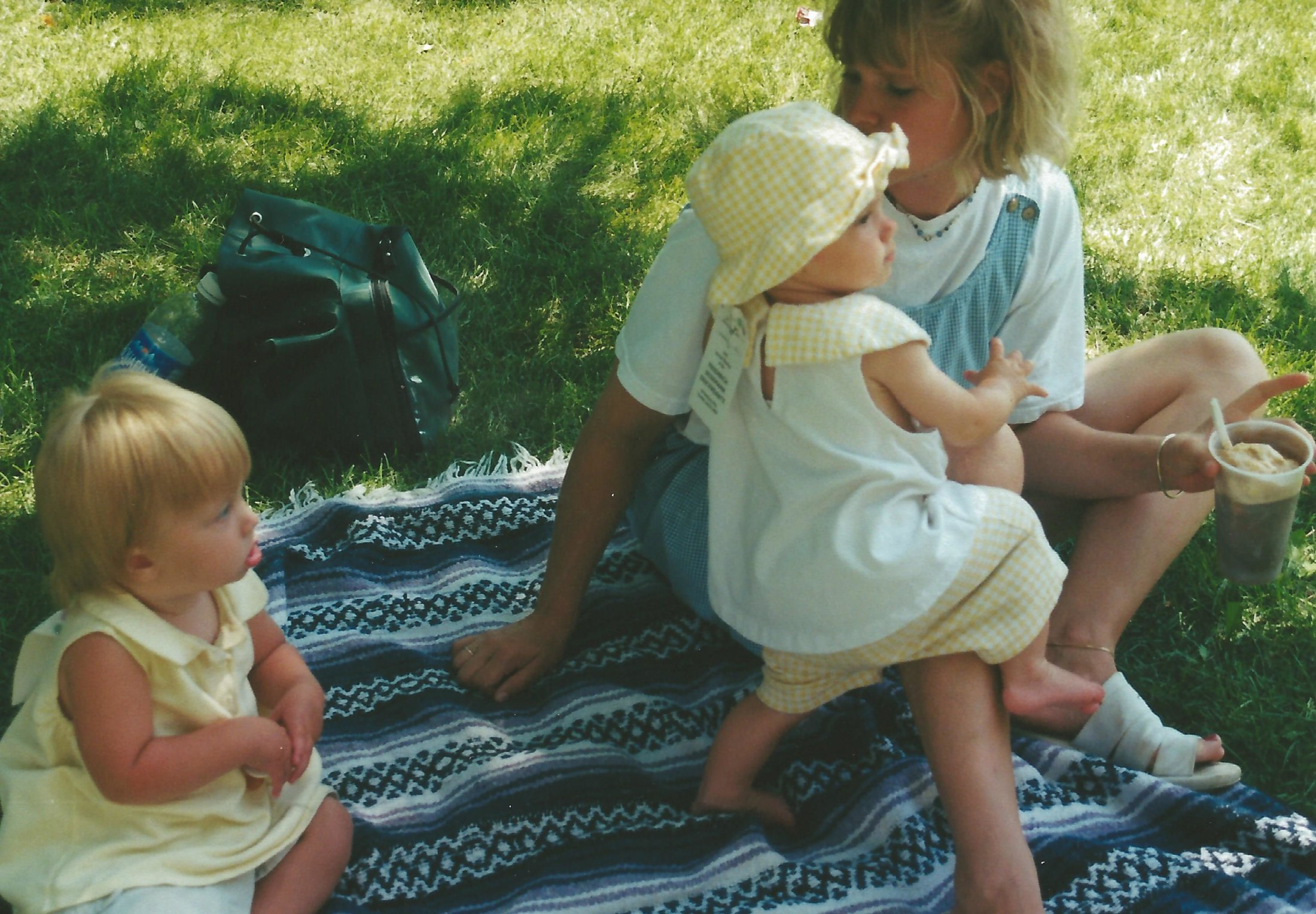 Amelia, Abbi and Amy