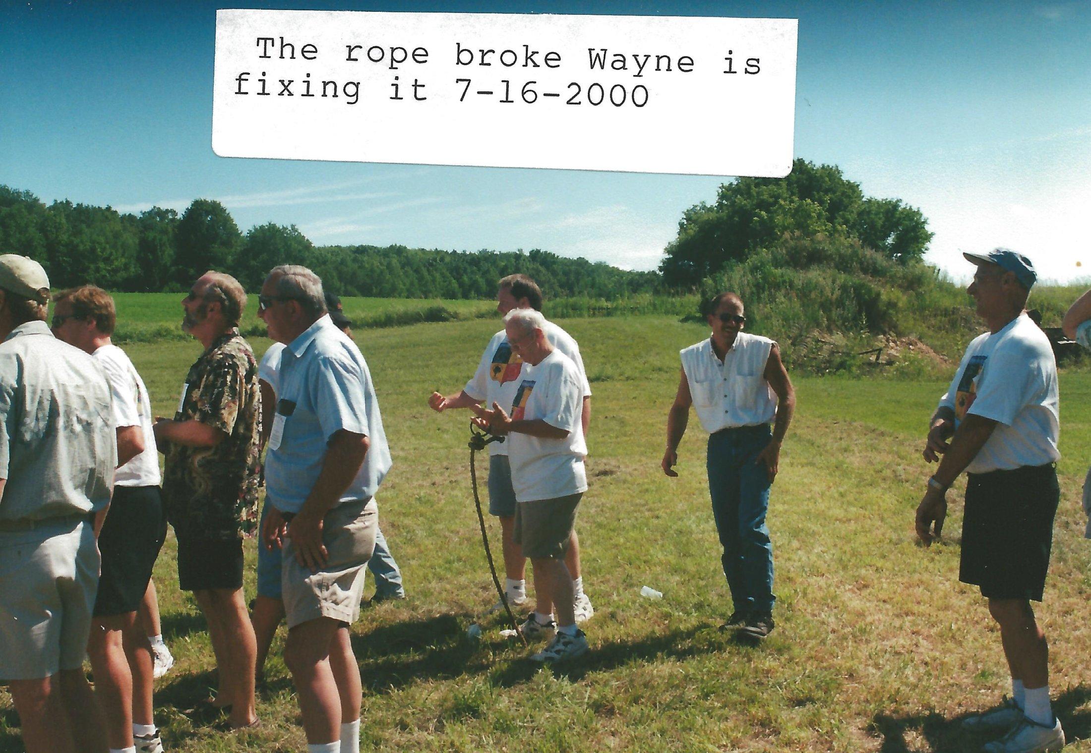 The Tug Of War Rope Broke