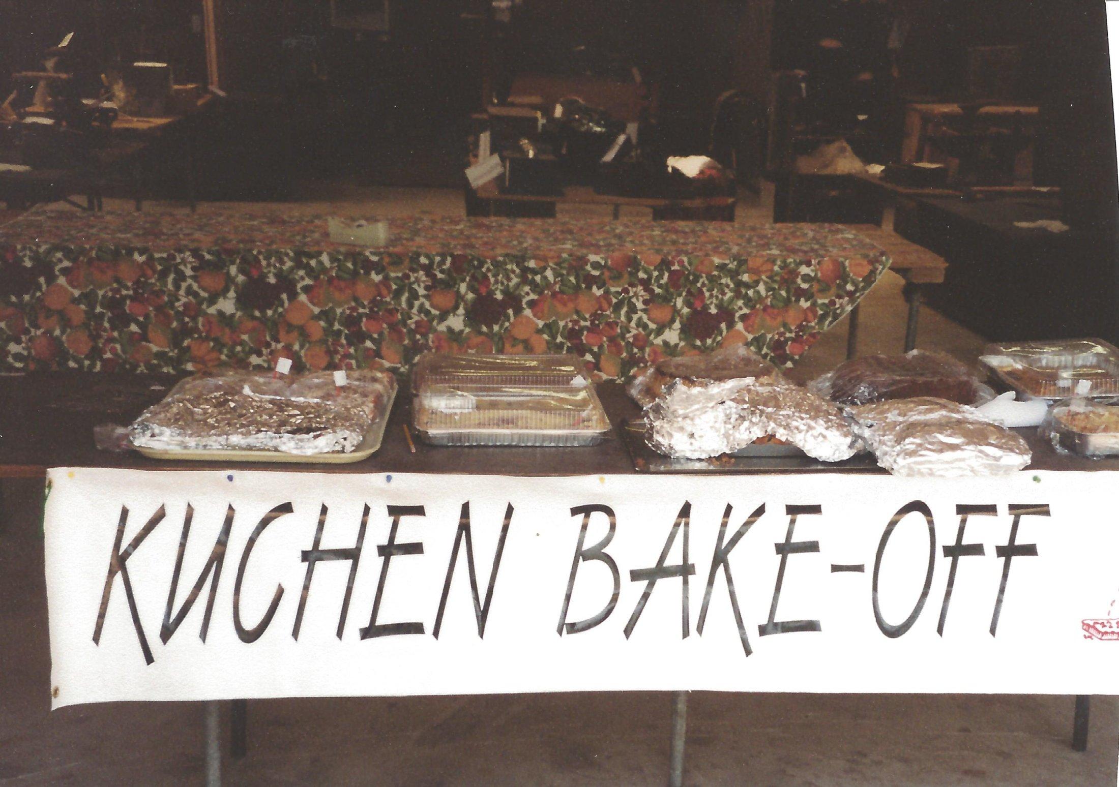 Kuchen Judging to Begin
