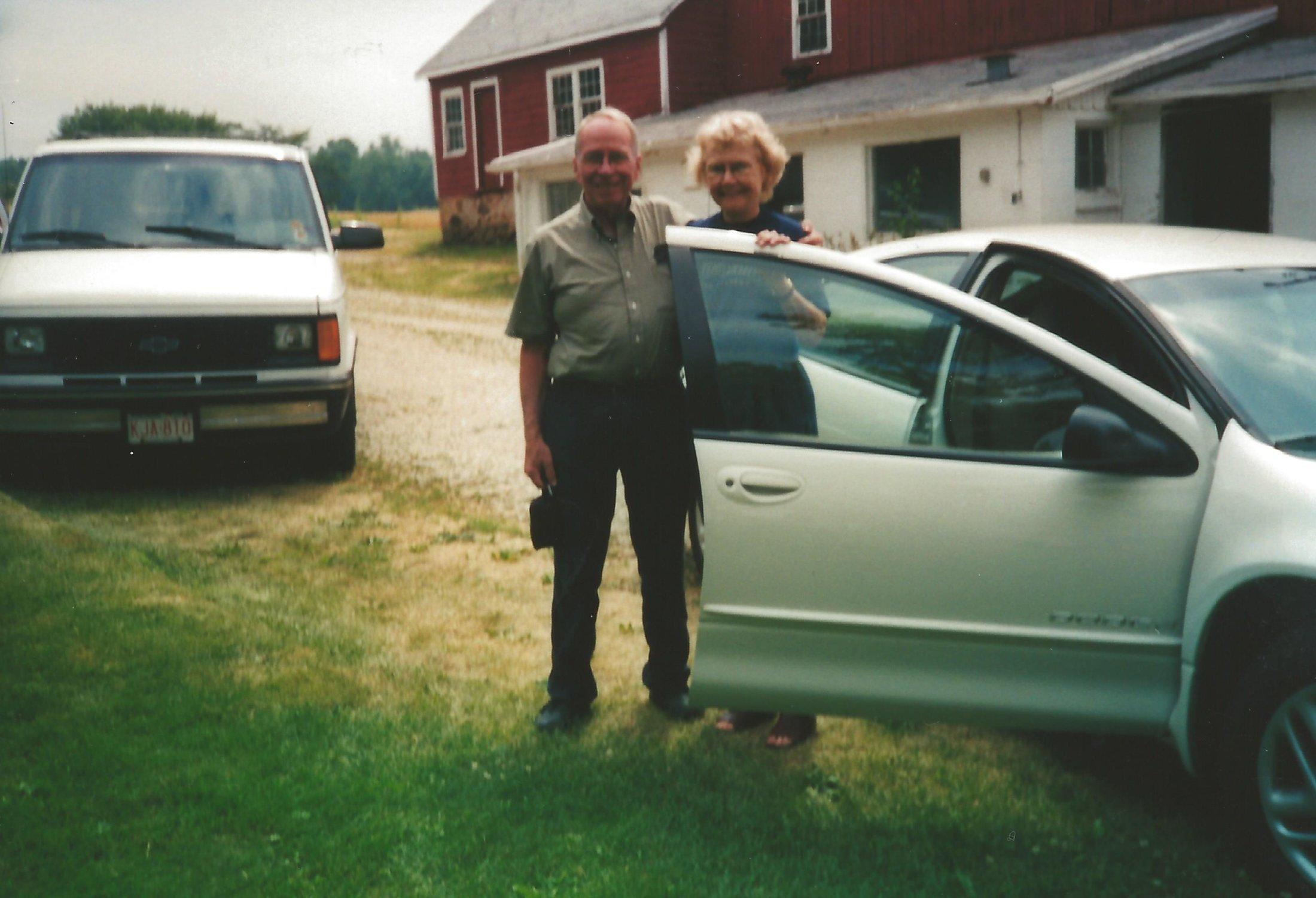 Walter & Ruth Leaving