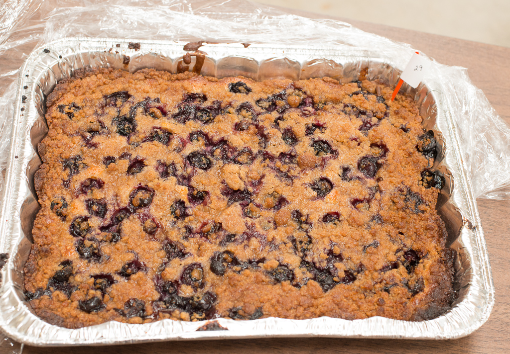 Peach Blueberry Kuchen by Tina / Bought by Travis