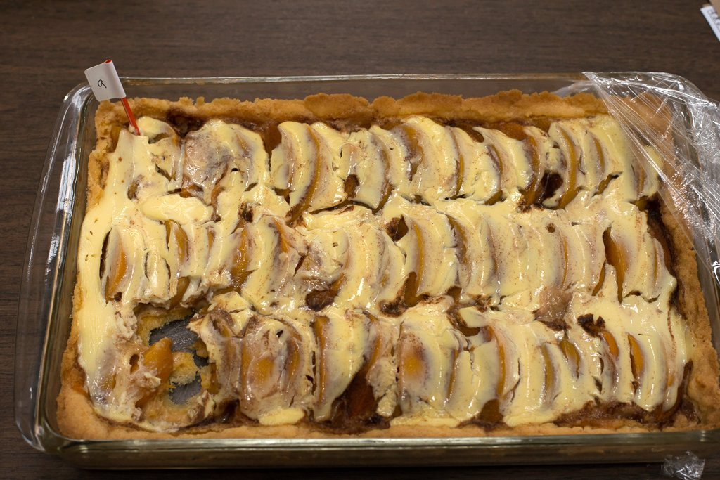 Peaches and Sour Cream by Jim Goad / Brought by Jim SchumacherKuchen Contest Entry