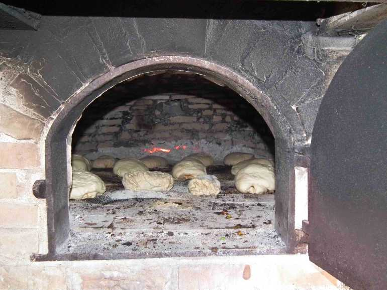 The Bread Is In The Oven