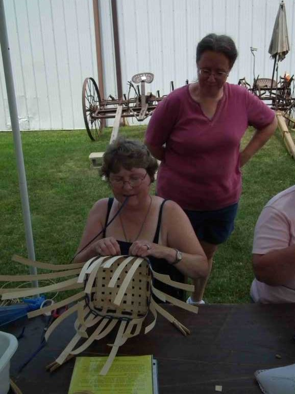 Basket Weaving Demonstration with Chris