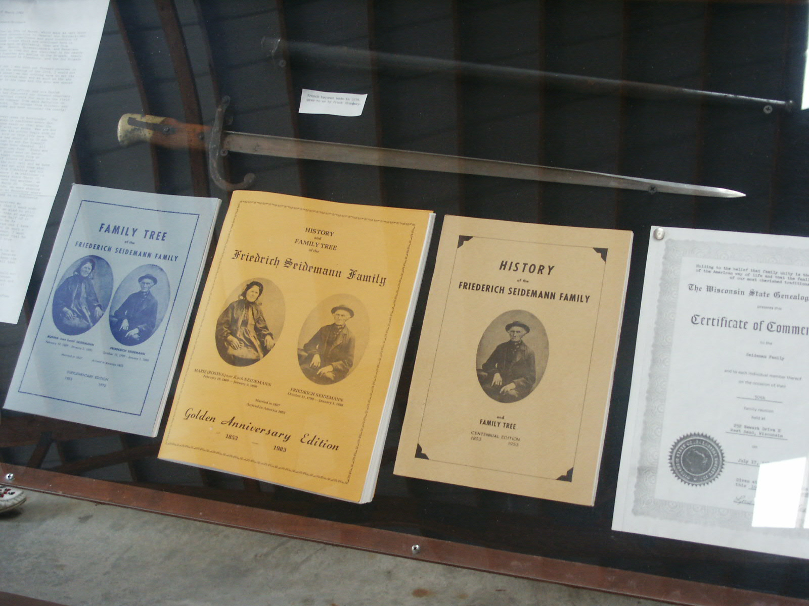 Our First Three Family History Books