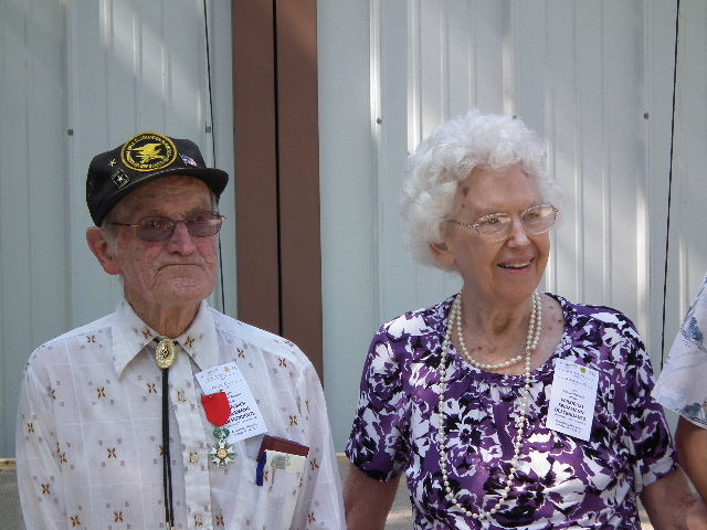 Oldest Man And Oldest Woman At The Reunion