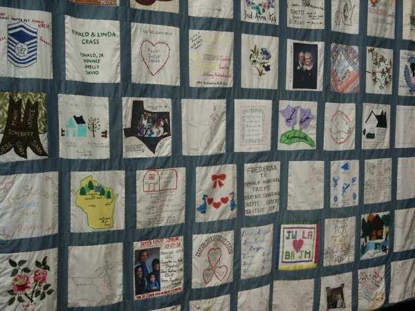104 Square Seidemann Family Quilt